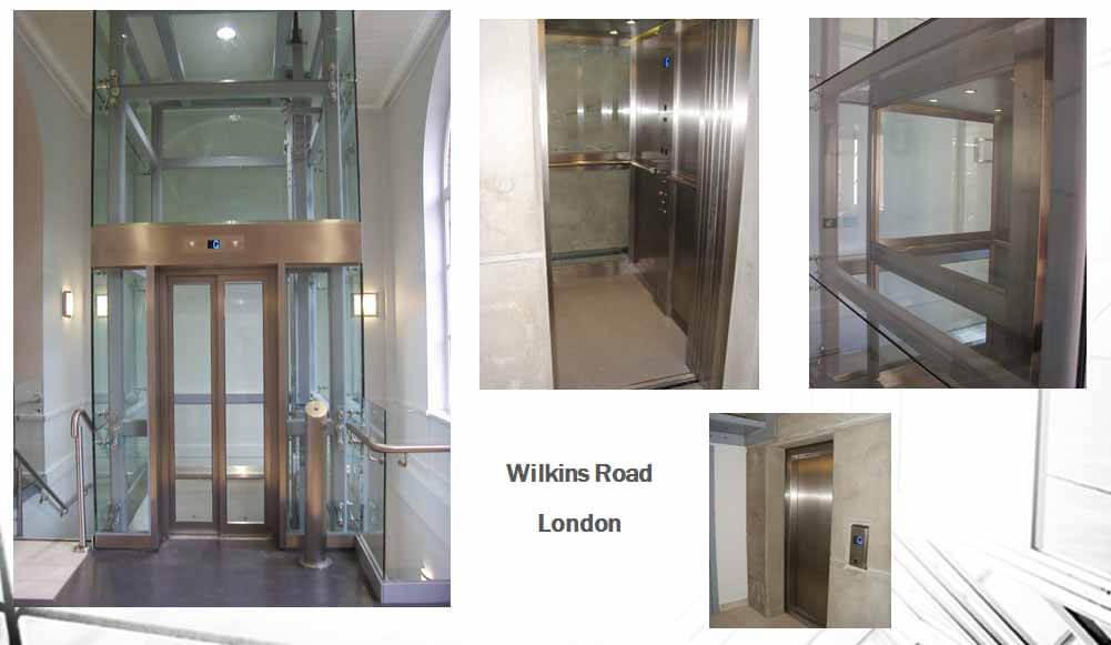 lifts in Wilkins road in london