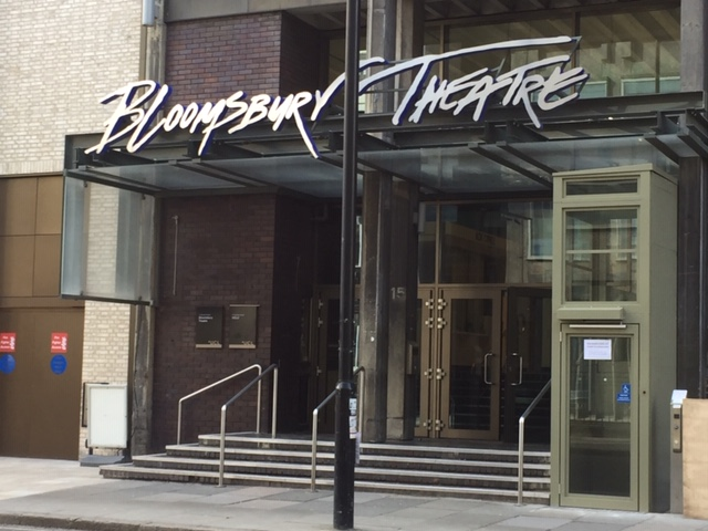 new platform lift in bloomsbury theatre in London