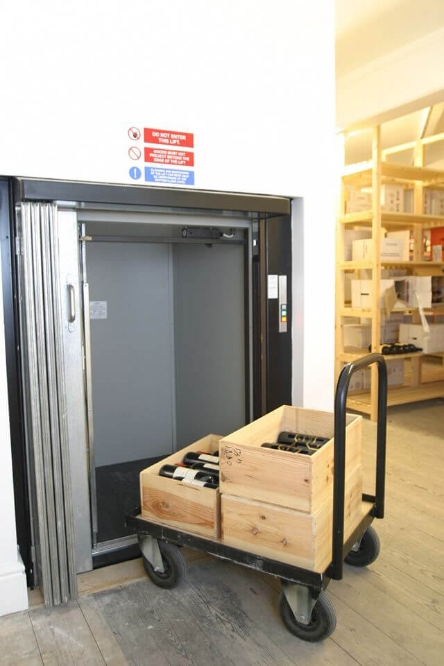 service lift by Titan new lifts