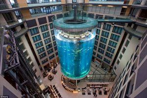 Aquadom lift